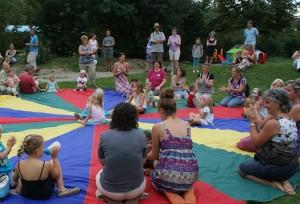 Mit vielen Familien den Vereinsgeburtstag feiern