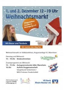 Plakat DIN A4 VR Bank Weihnachtsmarkt