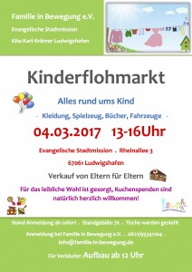 Flyer Flohmarkt PDF Katja und Myriam